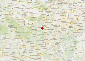 Übersicht 3: Lage Krobitz